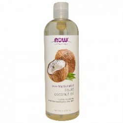 Now Solutions Liquid Coconut Oil 16 oz